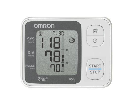 Omron RS3 für Handgelenk im Detail Check