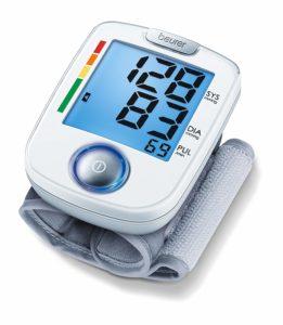 Das Beurer BC 44 Handgelenk-Blutdruckmessgerät - der kompakte Begleiter, wenn's mal schnell gehen muss