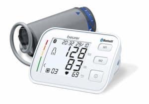 Das Beurer BM 57 Bluetooth (R) Oberarm Blutdruckmessgerät – die innovative Vernetzung zwischen Blutdruckmessgerät und Smartphone