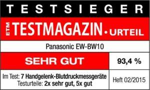 Panasonic EW-BW10 für Handgelenk 5