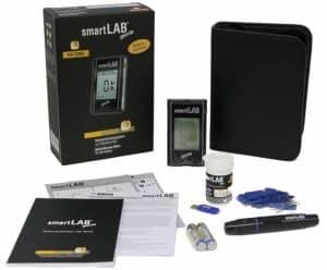 Starterset Blutzuckermessgerät Genie von smartLab im Detail-Check